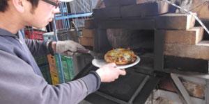 ピザ作り体験のイメージ